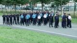 Personnels pénitentaires : Répétition du défilé du 14 juillet à Satory