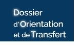 Dossier d'orientation et de transfert