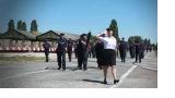 Répétition des personnels pénitentiaires pour le défilé du 14 juillet à Satory
