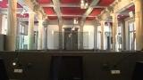 Restauration de la salle des assises de la cour d'appel d'Amiens