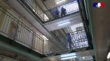 Déplacement d'Eric Dupond-Moretti au centre pénitentaiaire de Fresnes