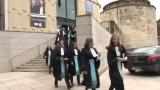 Prestation de serment des auditeurs de justice de la promotion 2015 de lENM