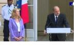 Cérémonie de passation des pouvoirs : Eric Dupond-Moretti succède à Nicole Belloubet