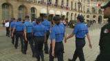 Défilé du 14 juillet : accueil des personnels pénitentiaires à la Chancellerie