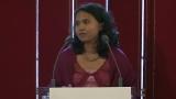 Discours de la repr�sentante de l'ONG  Forever  de Birmanie