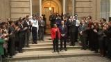 C�r�monie de passation de pouvoirs : Jean-Jacques Urvoas, succ�de � Christiane Taubira