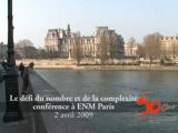 Cinquantenaire de l'ENM, le d�fi du nombre et de la complexit�