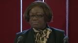 Discours de la repr�sentante de l'ONG �� Zimbabwe peace project��