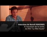 "Film ""La t�te haute"" Beno�t Magimel, acteur"