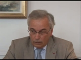 Point presse d'Andr Ride, Inspecteur Gnral des Services Judiciaires