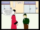 Animation visite du Palais de Justice