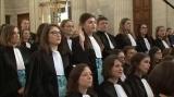 Prestation de serment des auditeurs de justice de la promotion 2016 de l'ENM