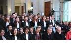 Prestation de serment des auditeurs de justice de la promotion 2019 de l'ENM