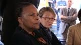 Christiane Taubira visite le centre pénitentiaire pour femmes de Rennes