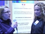 Forum des metiers - Interview de Malika Bendris, directrice des services de la PJJ